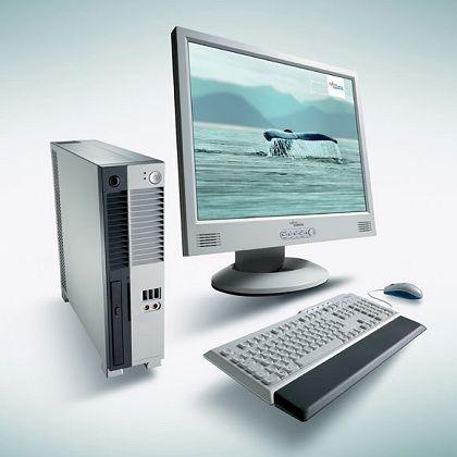 Fällt in der Gunst der Kunden: Computer von Fujitsu Siemens