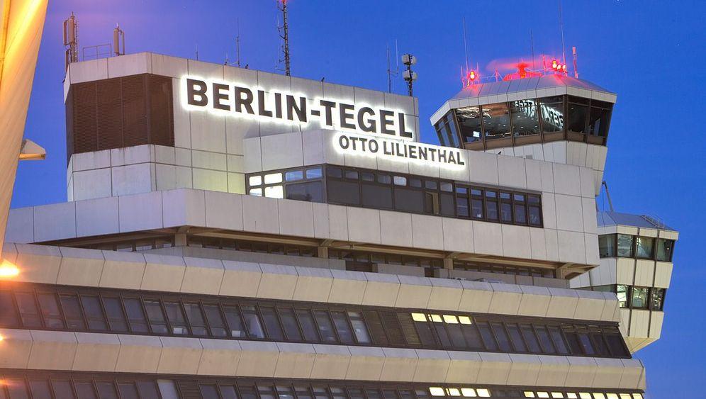 Flughafen Tegel: Ehrenrunde für eine West-Berliner Ikone