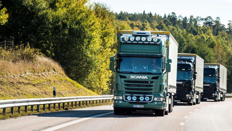 Scania Lkw: VW könnte die Lkw-Hersteller MAN und Scania unter der Holding Traton an die Börse bringen