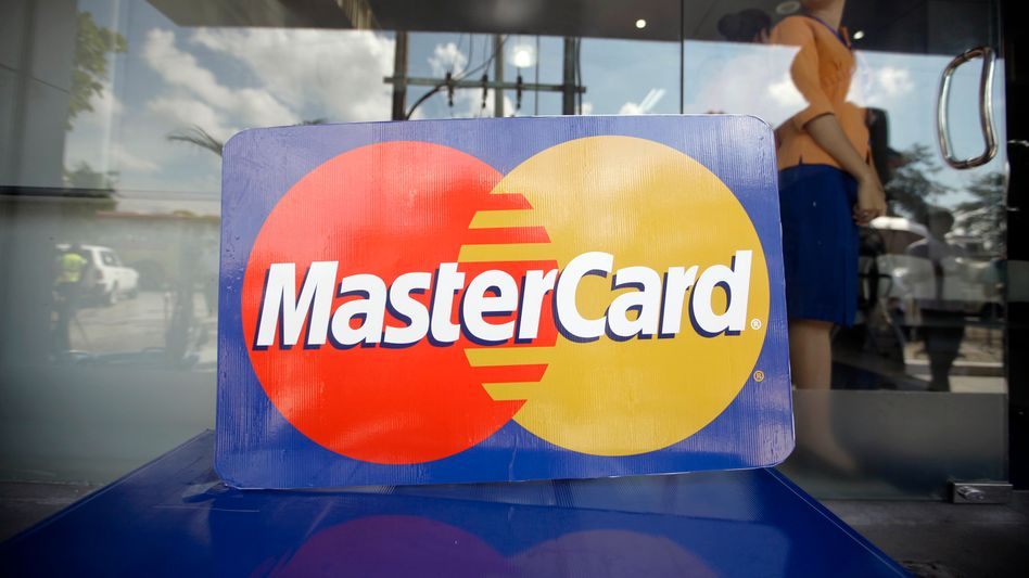 Mastercard-Logo: Der Kreditkarten-Anbieter hat seine Schuld bereits eingestanden und muss nun eine 10 Prozent geringere Strafe zahlen