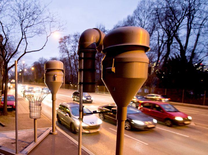 Schadstoff-Meßstation in Stuttgart: Der Druck auf Deutschlands Großstädte steigt, mehr für die Luftqualität zu tun