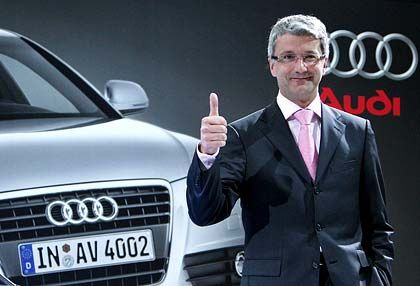Bislang Erfolgsgarant: Audi-Chef Stadler