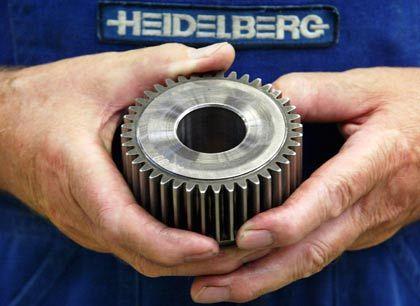 """Heidelberger Druck: """"Die Finanzkrise hat den Maschinenbausektor Ende 2008 ausgebremst"""""""