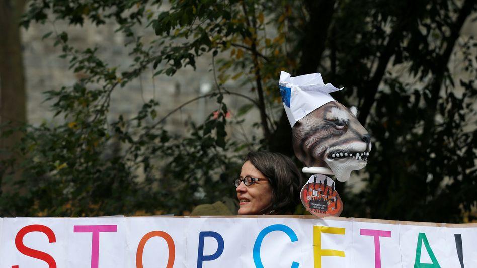 Stop Ceta: Die Wallonie hat keine Handelsbeziehungen zu Kanada. Dennoch blockiert sie das Abkommen zwischen Kanada und der EU
