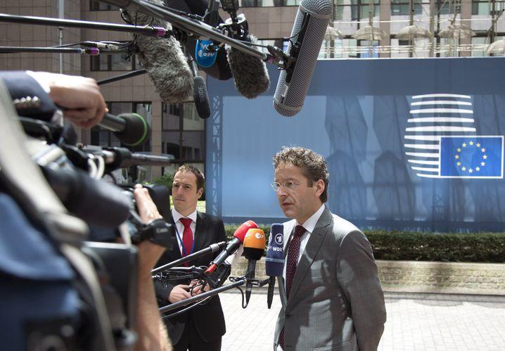 "Dijsselbloem in Brüssel: ""Keine Gespräche"""
