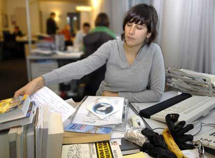 Besserer Durchblick: Ein aufgeräumter Schreibtisch macht das Arbeiten leichter