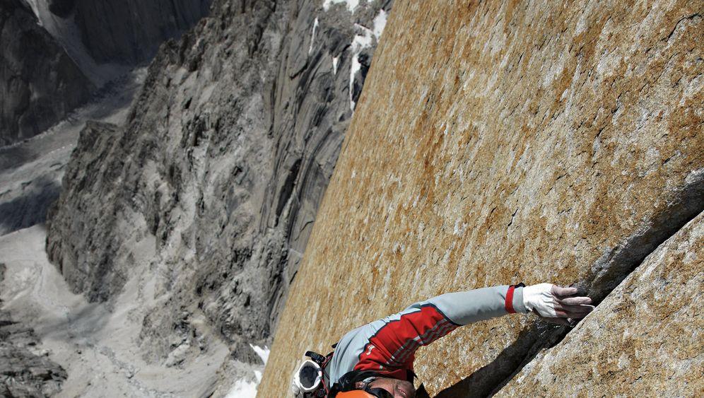 Klettern: Ganz dicht am Felsen