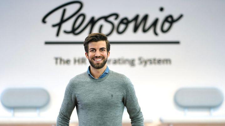 Plötzlich Einhorn: Personio-Mitgründer und CEO Hanno Renner wurde von Investoren mit neuem Kapital ausgestattet