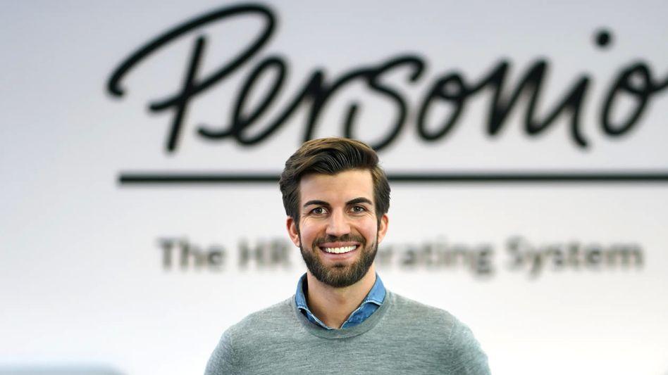"""""""Rasante Beschleunigung der Digitalisierung"""": Personio-Chef Hanno Renner bekommt frische Investorengelder, die sein Start-up zum Einhorn machen"""