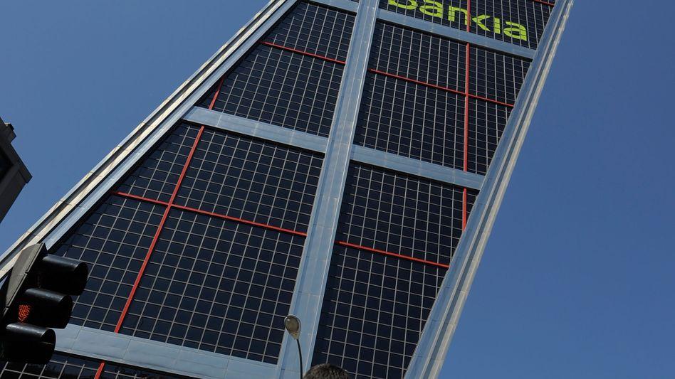 Bankia-Zentrale in Madrid: Die Antikorruptionseinheit ermittelt