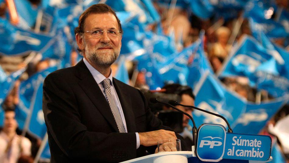 """Mariano Rajoy: """"Ich hoffe, die Märkte werden uns mehr als eine halbe Stunde Zeit geben"""""""