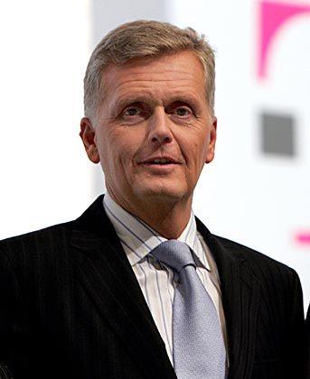 Muss gegenüber Analysten Überzeugungsarbeit leisten: Telekom-Chef Ricke