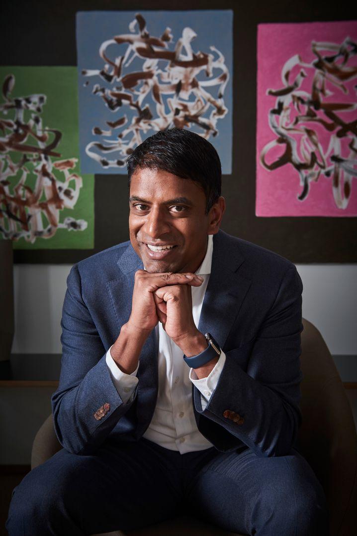 Vasant Narasimhans steile Karriere: Medizin in Harvard, WHO, McKinsey, Novartis-Chef.