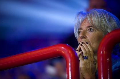 Christine Lagarde: Hält sich in ihrem stressigen Job mit Yoga und Schwimmen fit