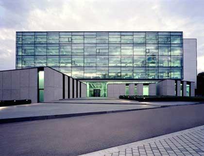 Trumpf: Das neue Vertriebs- und Servicezentrum im schwäbischen Ditzingen ist architektonisch ansprechend