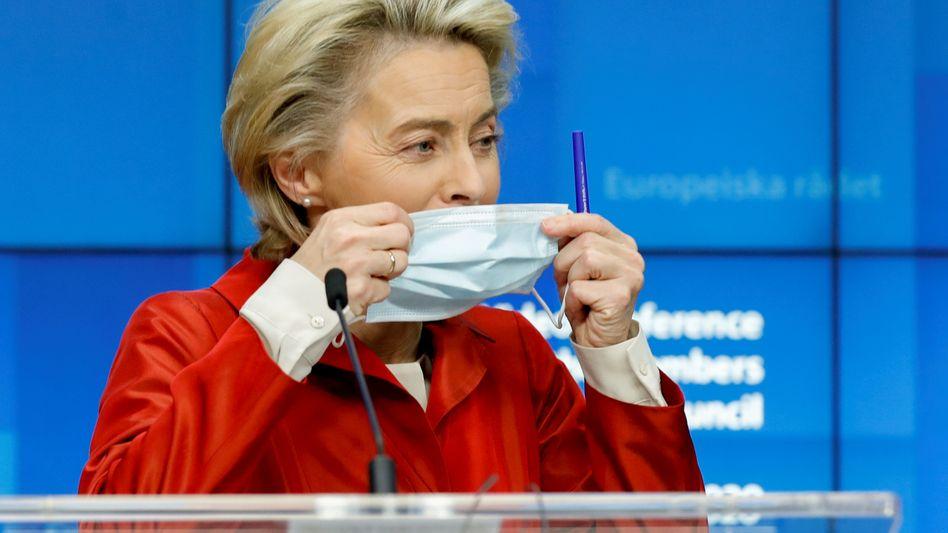 Dealmakerin: Die Beamten von Kommissionschefin Ursula von der Leyen haben hart verhandelt.