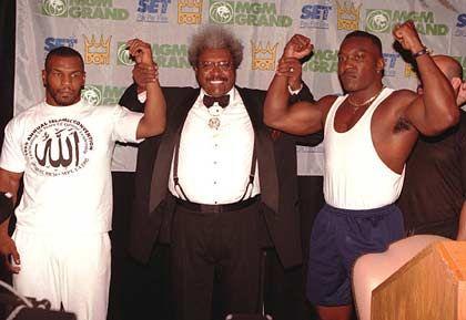 Strippenzieher: Tyson, Don King und Bruce Seldon