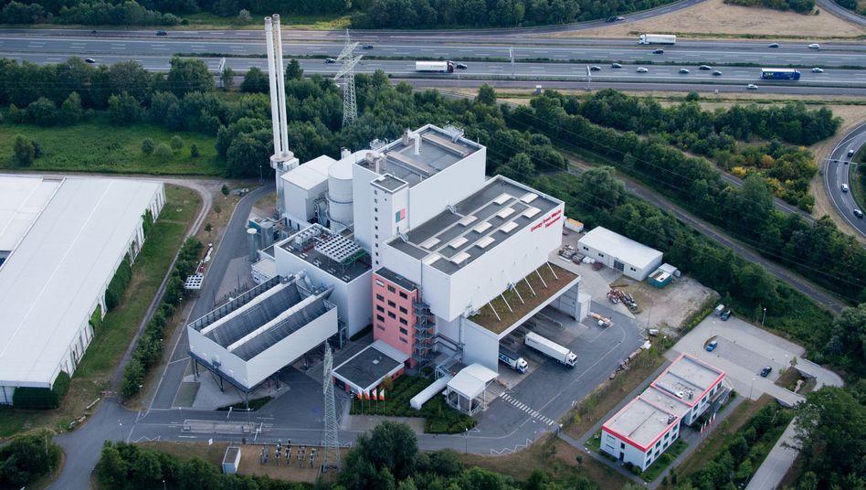 Müllverbrennungsanlage des Abfallkonzerns EEW in Hannover: 1,44 Milliarden Euro schwere Übernahme