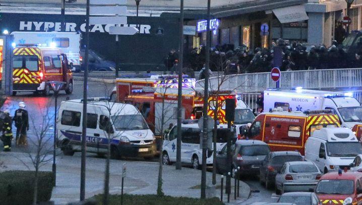 Terror in Frankreich: Zugriff in der Dunkelheit