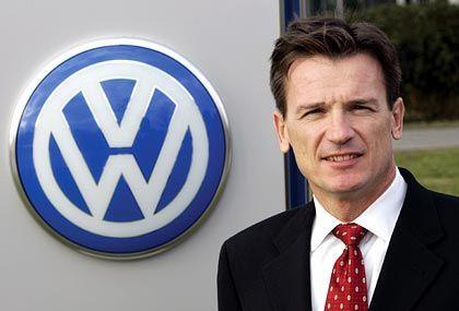 Ab Februar 2005 ordentliches Mitglied des Volkswagen-Vorstands: Ex-DaimlerChrysler-Manager Wolfgang Bernhard
