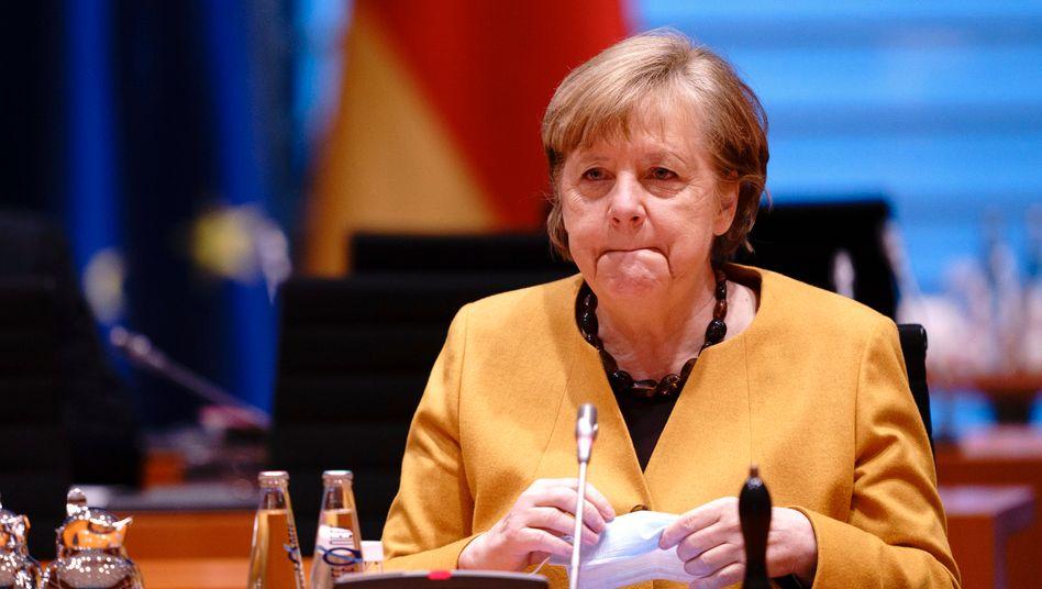 Angela Merkel übernimmt die volle Verantwortung für die Wirren um die ursprünglich geplante Osterruhe