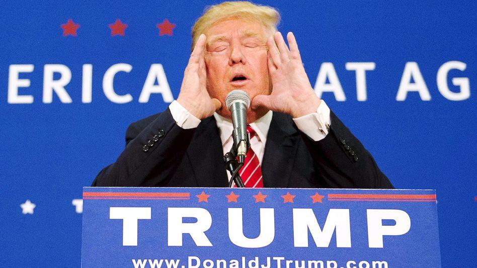 Donald Trump: Nie um eine große Geste verlegen
