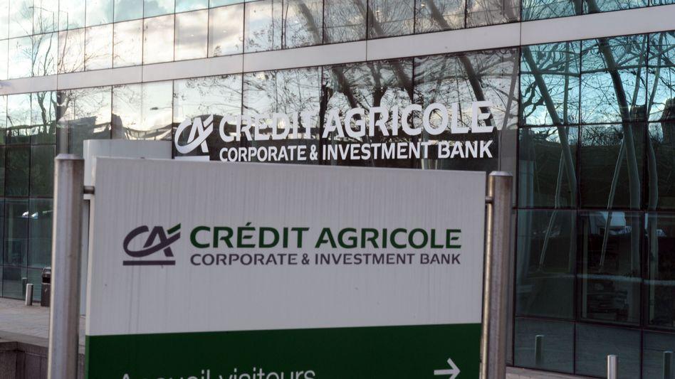 Französische Großbank Crédit Agricole: 2,5 Milliarden Euro müssen abgeschrieben werden