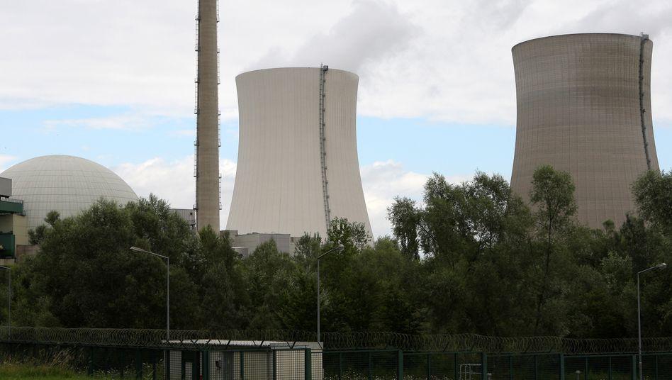 Das Kernkraftwerk in Philippsburg
