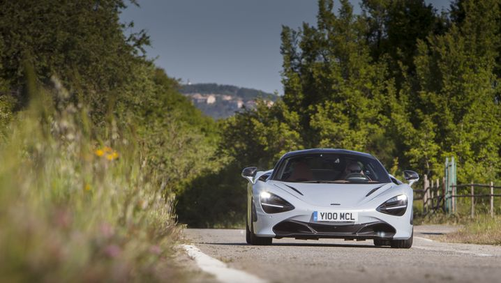 Testfahrt im McLaren 720S: Grazil und gutmütig