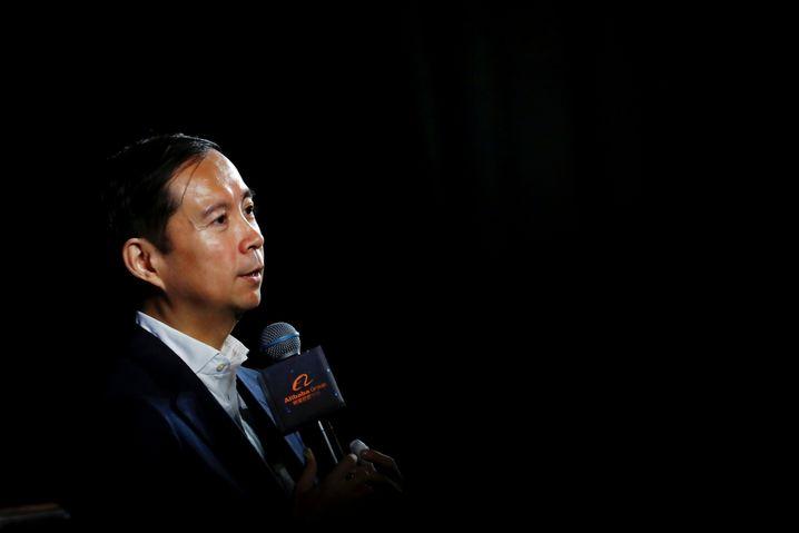 """Alibaba-CEO Daniel Zhang: """"Ich spreche zwar leise, aber ich treffe immer die schwierigen Entscheidungen."""""""
