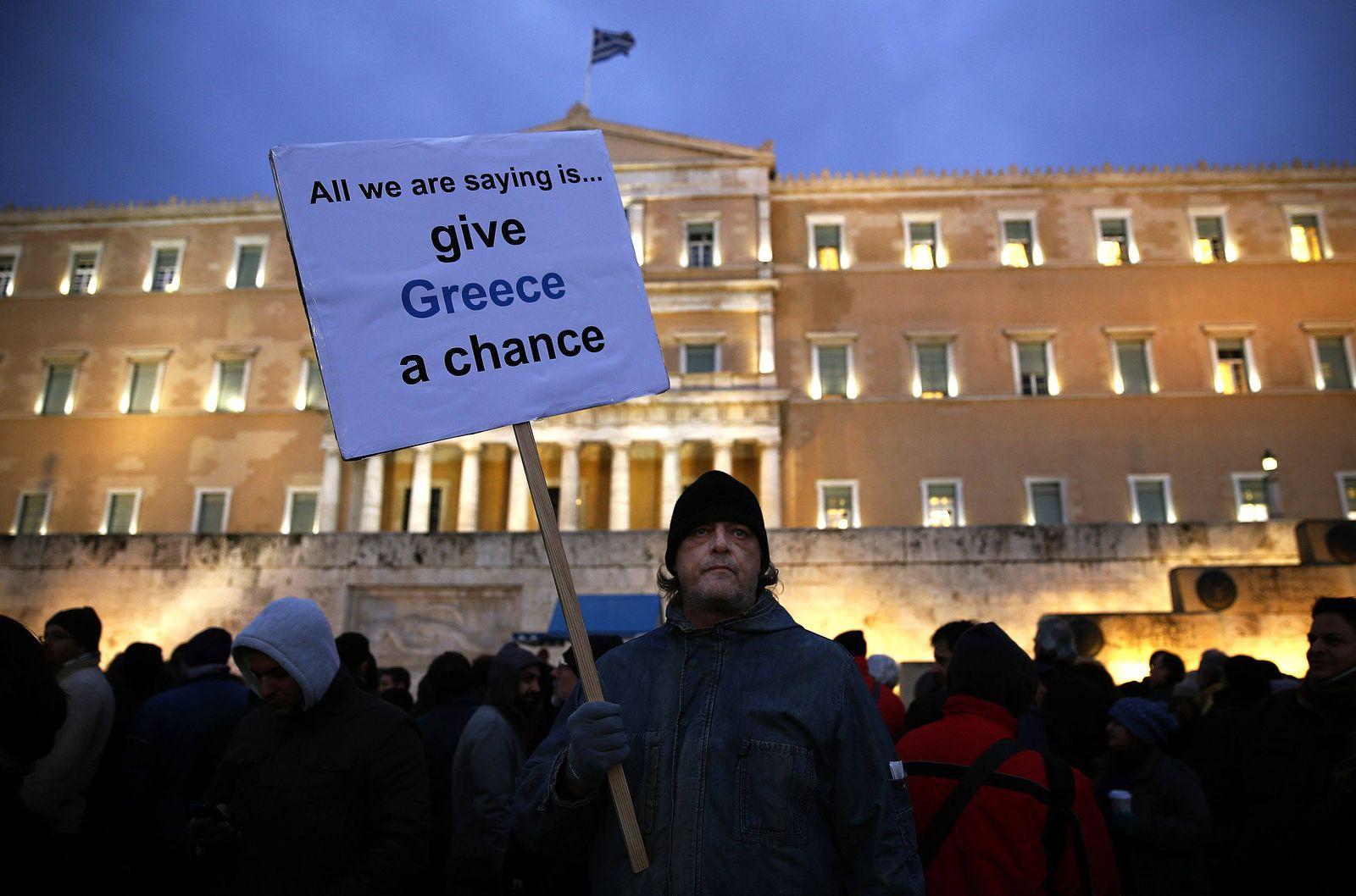 Griechenland / Demo