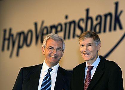 Der deutsche Statthalter: HVB-Chef Wolfgang Sprißler (r.) mit Alessandro Profumo