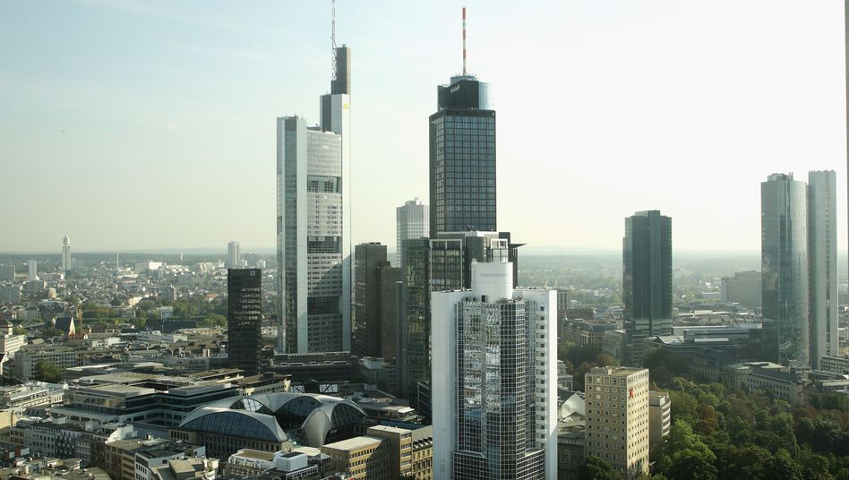 Bankenviertel in Frankfurt am Main: Bundesbank rechnet mit erheblichem Kapitalbedarf