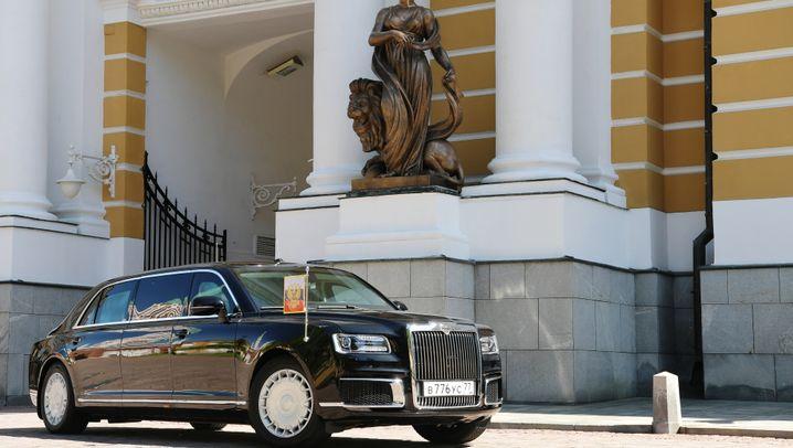 Die Staatskarossen der Staatenlenker: In diesen Panzer-Dienstwagen fahren Putin, Trump & Co. vor