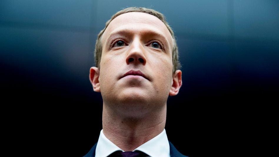 """""""Wir werden dagegen kämpfen"""": Facebook-Chef Mark Zuckerberg"""