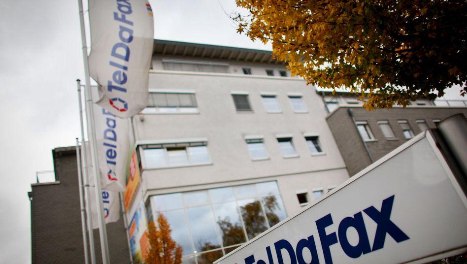 Teldafax in Troisdorf bei Bonn: Nach dem Platzen der Blase am Neuen Markt verlegte sich das Unternehmen auf den Handel mit Strom und Gas