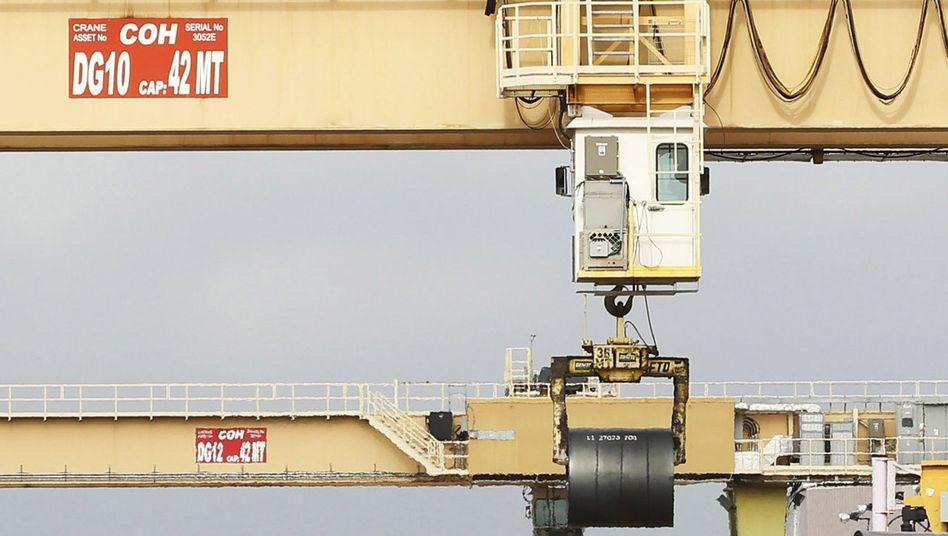 Abnahmegarantie für brasilianischen Rohstahl: Noch-ThyssenKrupp-Werk Calvert (USA)
