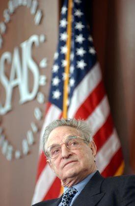Gut bezahlt: Hedgefonds-Guru Soros kassierte 2003 rund 750 Millionen Dollar. Die Stars der Branche verdienten im Schnitt 200 Millionen Dollar.