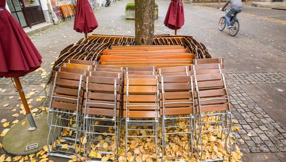 Im November nur Takeaway: Geschlossenes Restaurant in München