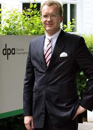 """dpa-Chef Malte von Trotha: """"Die Werbekunden von Presse und Rundfunk können sich im Internet direkt an ihre Zielgruppen wenden"""""""