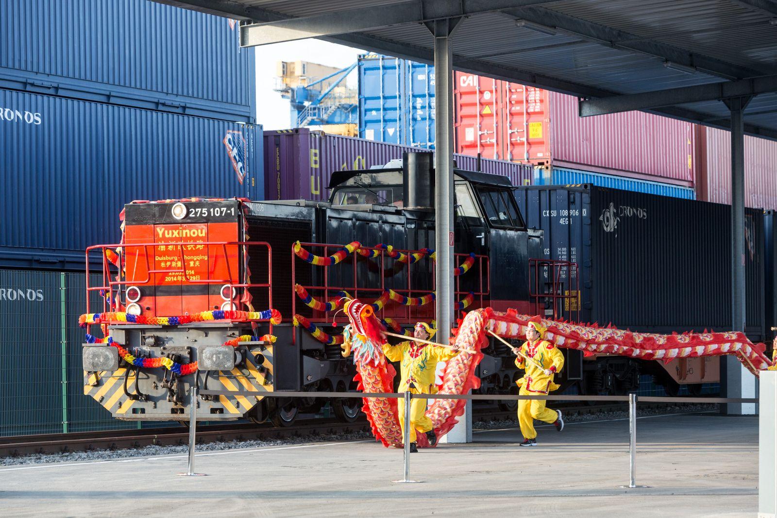 Yuxinou / Güterzug China Deutschland