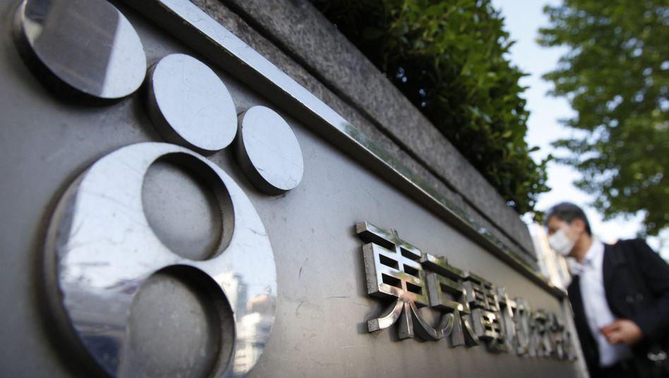 Tepco-Zentrale in Tokio: Die japanische Regierung stützt den Konzern mit umgerechnet rund zehn Milliarden Euro