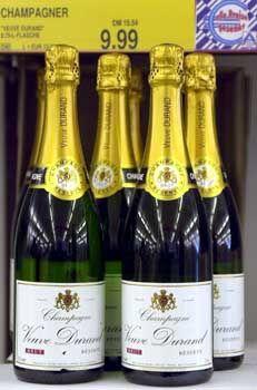 "Champagner ""Veuve Durand"": 9,99 Euro bei Aldi"