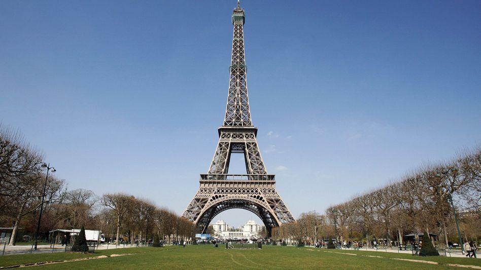 Viel besucht: Der Eiffelturm in Paris