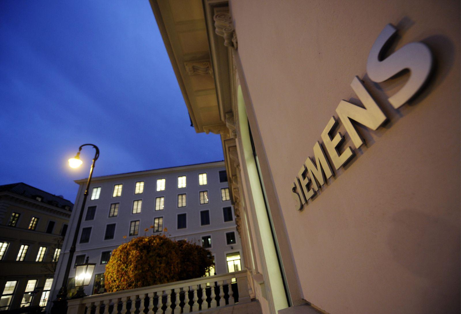 NICHT VERWENDEN Siemens AG Zentrale