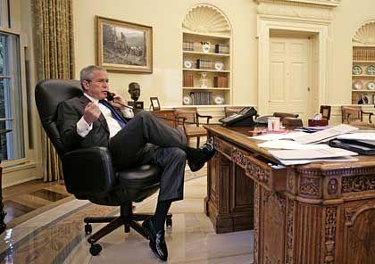 Unterstützt Wolfowitz: US-Präsident Bush