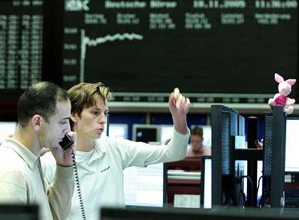 Dynamik auf dem Börsenparkett:Für diekommenden Woche beurteilt eine Mehrheit der Analysten die Dax-Aussichtenals positiv