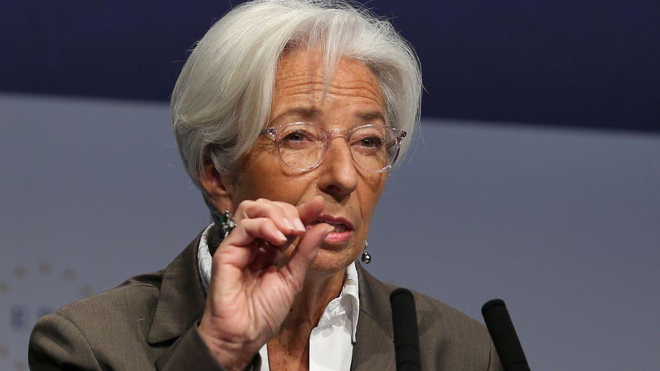 """""""Eine Menge hat sich in den vergangenen 16 Jahren geändert"""": EZB-Chefin Lagarde"""