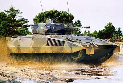 Schützenpanzer Puma: Ertrag schaffen mit Waffen