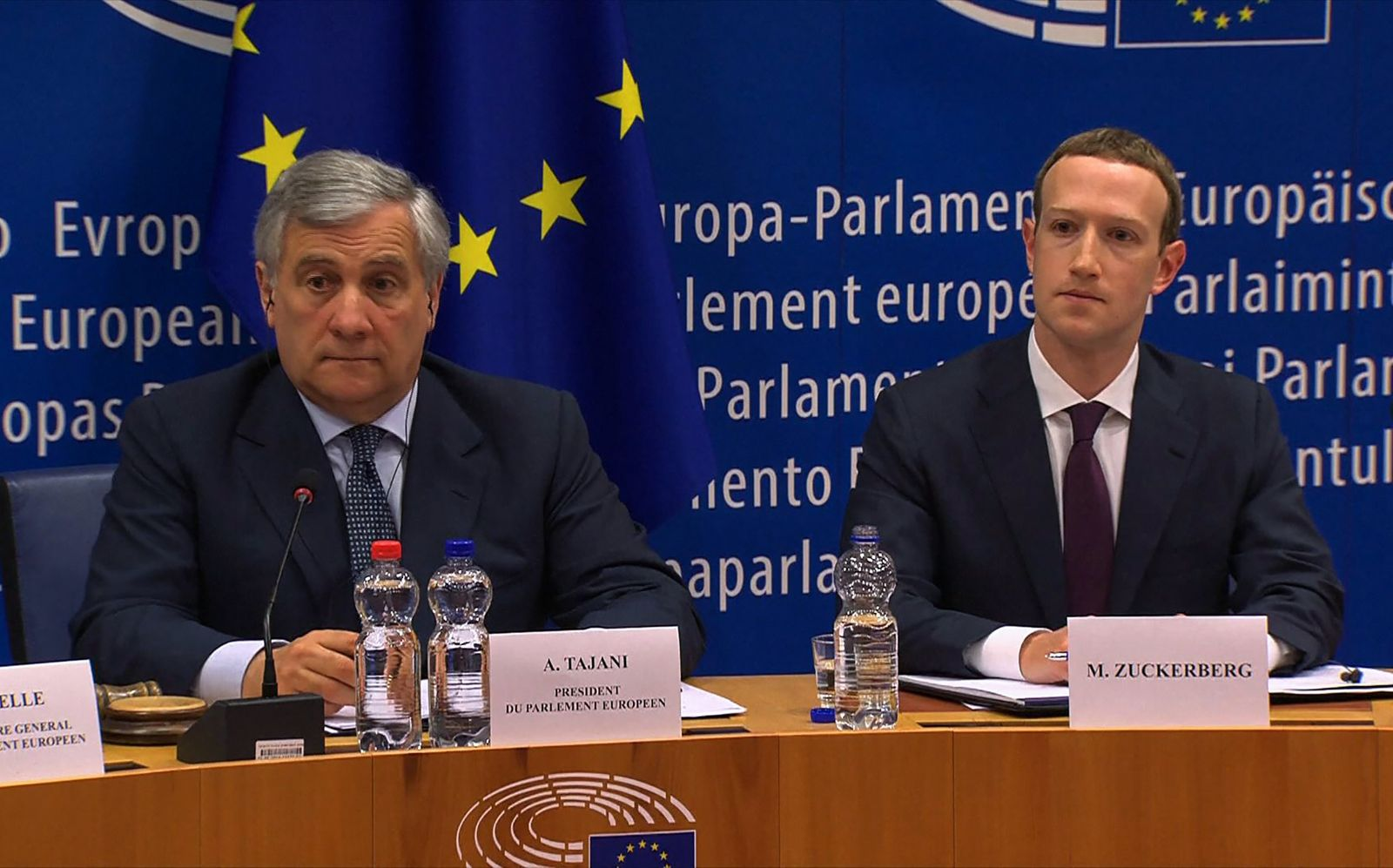 Zuckerberg / EU-Parlament